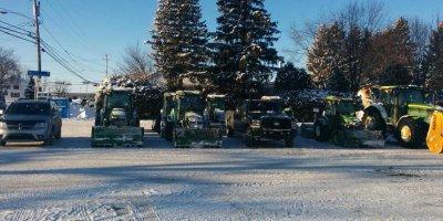 tracteurs à neige